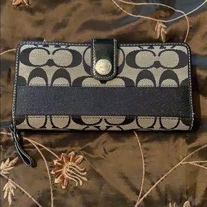 Coach large wallet